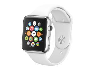 Black Screen Non-Working Fake Dummy Display Model for Apple Watch Series 6 44mm(White)