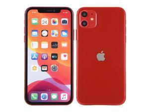 Color Screen Non-Working Fake Dummy Display Model for iPhone 11(Red)