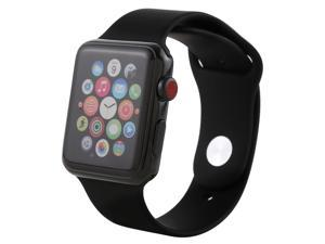 Color Screen Non-Working Fake Dummy Display Model for Apple Watch Series 3 38mm(White)