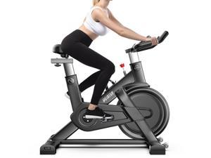 QM720 Household Smart Ultra-quiet Spinning Bicycle Indoor Fitness Equipment, Support APP Monitoring Heart Rate & Online Games
