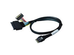 Dell Dual MINI SAS SFF-8643 31 In Cable For Dell Poweredge R715 R810 897DK FN39J