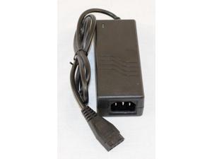 OKGEAR 110V AC to +12V & 2A DC Adapter w/ 4pin MOLEX Connector, Molex Power Adapter