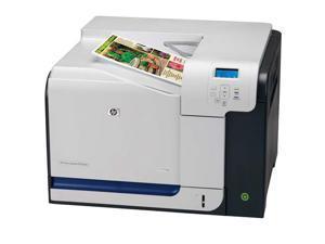HP Color LaserJet CP3525dn Workgroup Up to 30 ppm 1200 x 600 dpi Color Print Quality Color Laser Printer