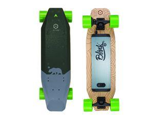 BLINK S-R - Single Hub Motor Electric Skateboard with 7 Mile Range, 16 MPH Top Speed, 600W,  Canadian Maple Wood