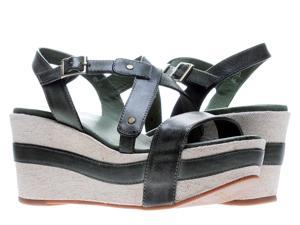 Antelope 821 Slingback Olive Women's Wedge Sandals 821-OLIVE Size 36 EUR