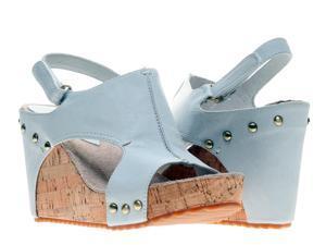Antelope 724 Slingback Off White Women's Wedge Sandals 724-OFFWHITE Size 41 EUR