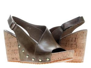 Antelope 721 Slingback Taupe Women's Wedge Sandals 721-TAUPE Size 38 EUR