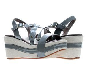Antelope 823 Slingback Grey Women's Wedge Sandals 823-GREY Size 41 EUR