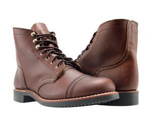 Red Wing Heritage Iron Ranger 6-Inch 3065 Amber Harness Women's Boots 03065 Size 7B