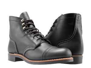Red Wing Heritage Iron Ranger 6-Inch 3066 Black Boundary Women's Boots 03066 Size 6B