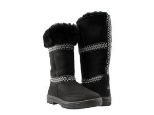 UGG Australia Sundance Revival Black Women's Boots 5605O-BLK Size 8