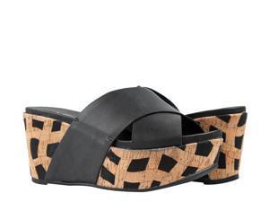 Antelope 828 Hi Cross Band Slide Women's Wedge Sandals Size 40 EUR