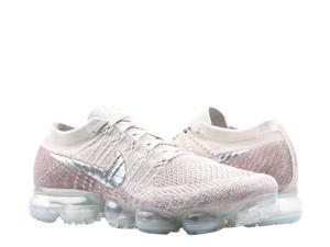 bfce04faeba Nike Air VaporMax Flyknit Chrome-Sunset Glow Women's Running Shoes ...
