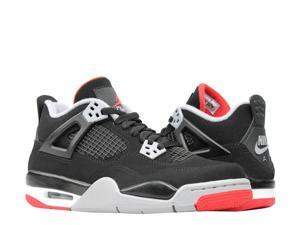 best website 20601 5eead Nike Air Jordan 4 Retro (GS) Bred Big Kids Basketball Shoes ...