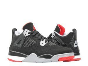 ca256ba0372 Nike Air Jordan 4 Retro (PS) Bred Little Kids ...