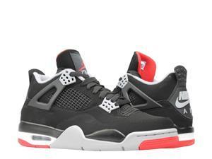 4117969c3f2 Nike Air Jordan 4 Retro Bred Men's Basketball Shoes ...