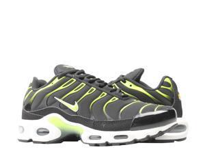 Nike Air Max Plus Black/Volt-White-Platnium Tint Men's Running Shoes 852630-037 Size 7