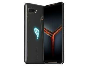 ASUS ROG Gaming Phone 2 Dual-SIM ZS660KL 128GB ROM + 8GB RAM (GSM Only | No CDMA) Factory Unlocked 4G/LTE Smartphone - Black