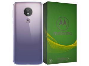 Motorola Moto G7 Power XT1955 64GB Single-SIM (GSM Only, No CDMA) Factory Unlocked 4G/LTE Smartphone - Iced Violet