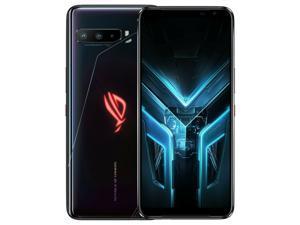 ASUS ROG Gaming Phone 3 (Strix Edition) ZS661KS Dual-SIM 256GB ROM + 8GB RAM Factory Unlocked 5G Smartphone (Black) - International Version