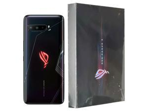 ASUS ROG Gaming Phone 3 (Elite Edition) ZS661KS Dual-SIM 512GB ROM + 12GB RAM Factory Unlocked 5G Smartphone (Black) - International Version