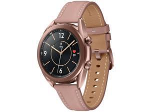 Samsung Galaxy Watch3 (41mm Aluminium Case) 8GB SM-R850 Bluetooth Smartwatch - International Version - Mystic Bronze
