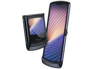 Motorola Razr 5G (2020) 256GB ROM + 8GB RAM Factory Unlocked Flip Android Smartphone (Polished Graphite) - International Version
