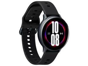Samsung Galaxy Watch Active 2 Under Armour (44mm) Edition SM-R820 Smartwatch - Bluetooth, Aluminium with Silicone Strap - Black