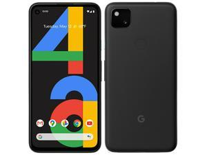 "Google Pixel 4a (4G) G025N 128GB, 5.8"" inch (GSM Only, No CDMA) Factory Unlocked 4G/LTE Smartphone (Just Black) - International Version"