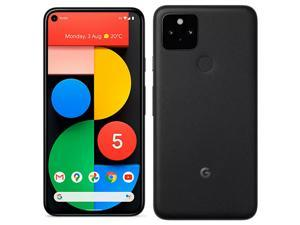 Google Pixel 5 5G (2020) GTT9Q 128GB (GSM | CDMA) Factory Unlocked Android Smartphone - International Version (Just Black)