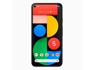 Google Pixel 5 5G (2020) GTT9Q 128GB (GSM | CDMA) Factory Unlocked Android Smartphone - International Version (Sorta Sage)