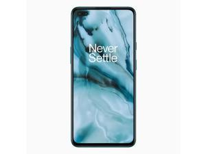 OnePlus Nord 5G AC2003 Dual-SIM 256GB ROM + 12GB RAM (GSM Only | No CDMA) Factory Unlocked Android Smartphone - Blue Marble