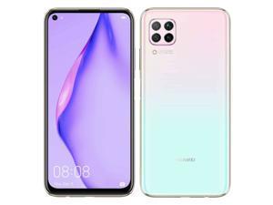 Huawei P40 Lite Dual-SIM 128GB + 6GB RAM (GSM Only | No CDMA) Factory Unlocked 4G/LTE Smartphone (Sakura Pink) - International Version