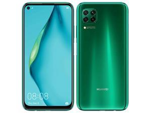 Huawei P40 Lite Dual-SIM 128GB + 6GB RAM (GSM Only | No CDMA) Factory Unlocked 4G/LTE Smartphone (Crush Green) - International Version