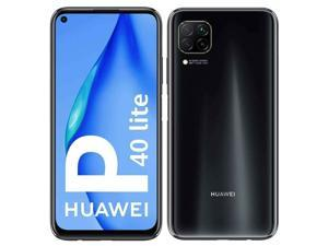 Huawei P40 Lite Dual-SIM 128GB + 6GB RAM (GSM Only | No CDMA) Factory Unlocked 4G/LTE Smartphone (Black) - International Version
