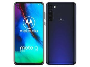Motorola Moto G Pro XT2043-7 Dual SIM 128GB + 4GB RAM (GSM Only | No CDMA) Factory Unlocked 4G/LTE Smartphone (Mystic Indigo) - International Version
