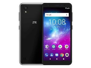 ZTE Blade A5 Dual-SIM 16GB (GSM Only | No CDMA) Factory Unlocked 4G/LTE Smartphone (Black) - International Version