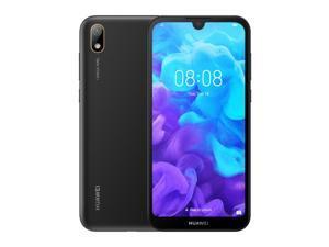 Huawei Y5 (2019) Dual-SIM 16GB ROM + 2GB RAM (GSM Only | No CDMA) Factory Unlocked 4G/LTE Smartphone (Midnight Black) - International Version