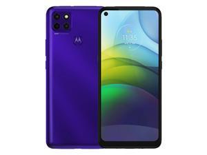 Motorola Moto G9 Power Dual-SIM 128GB ROM + 4GB RAM (GSM Only | No CDMA) Factory Unlocked Android Smartphone (Electric Violet) - International Version