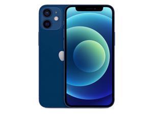 Apple IPhone 12 Mini 5G A2399 Dual-SIM 256GB (GSM |CDMA) Factory Unlocked Smartphone (Blue) - International Version