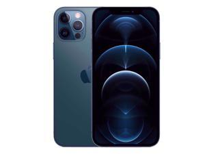 Apple IPhone 12 Pro Max 5G A2411 Dual-SIM 128GB (GSM |CDMA) Factory Unlocked Smartphone (Pacific Blue) - International Version