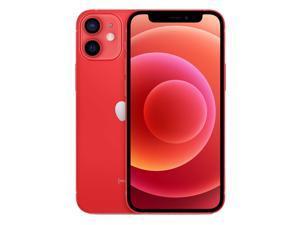 Apple IPhone 12 Mini 5G A2399 Dual-SIM 64GB (GSM |CDMA) Factory Unlocked Smartphone - Product (RED) - International Version