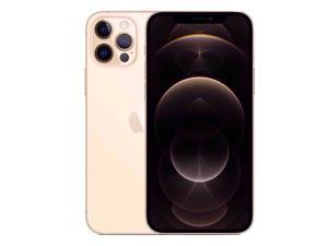 Apple IPhone 12 Pro Max 5G A2411 Dual-SIM 128GB (GSM |CDMA) Factory Unlocked Smartphone (Gold) - International Version