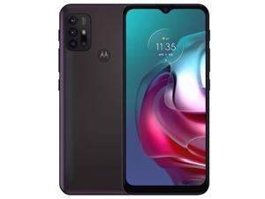 Motorola Moto G30 PAML0006GB Dual-SIM 128GB ROM + 4GB RAM (GSM Only | No CDMA) Factory Unlocked 4G/LTE Smartphone (Dark Pearl/Black) - International Version