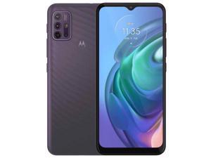 Motorola Moto G10 PAMN0015GB Dual-SIM 64GB ROM + 4GB RAM (GSM Only | No CDMA) Factory Unlocked 4G/LTE Smartphone (Aurora Grey) - International Version