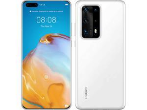 Huawei P40 Pro Plus 5G ELS-N39 Dual-SIM 512GB ROM + 8GB RAM (GSM Only | No CDMA) Factory Unlocked Android Smartphone (White Ceramic) - International Version