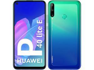 Huawei P40 Lite E Dual-SIM 64GB + 4GB RAM (GSM Only | No CDMA) Factory Unlocked 4G/LTE Smartphone (Aurora Blue) - International Version