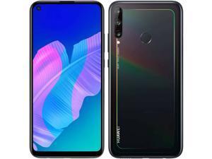 Huawei P40 Lite E Dual-SIM 64GB + 4GB RAM (GSM Only | No CDMA) Factory Unlocked 4G/LTE Smartphone (Black) - International Version