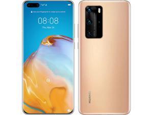 Huawei P40 Pro 5G Dual-SIM 256GB ROM + 8GB RAM (GSM Only | No CDMA) Factory Unlocked Android Smartphone (Gold) - International Version