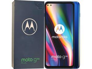Motorola Moto G 5G Plus Dual-SIM 128GB ROM + 6GB RAM (GSM Only | No CDMA) Factory Unlocked Android Smartphone (Mystic Lilac) - International Version